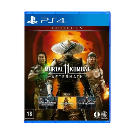 Jogo Mortal Kombat 11 Aftermach Kollection - PS4