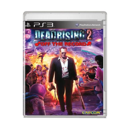 Jogo Dead Rising 2: Off The Record - PS3 [Japonês]
