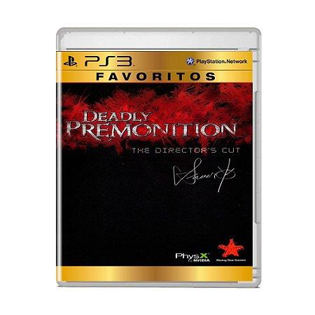 Jogo Deadly Premonition (Favoritos) - PS3