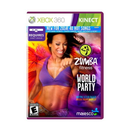 Jogo Zumba Fitness World Party - Xbox 360