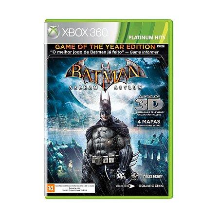 Jogo Batman: Arkham Asylum (Platinum Hits) - Xbox 360