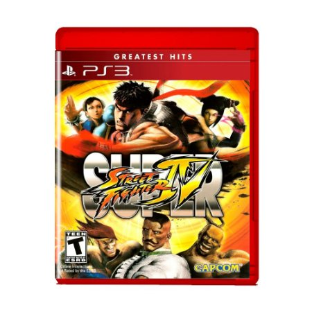 Jogo Super Street Fighter IV (Greatest Hits) - PS3