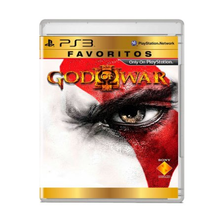 Jogo God of War III (Favoritos) - PS3