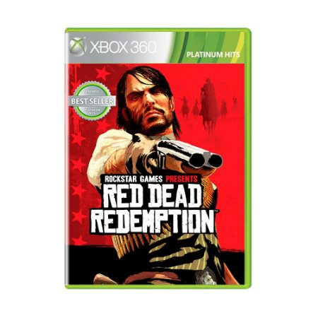 Jogo Red Dead Redemption (Platinum Hits) - Xbox 360