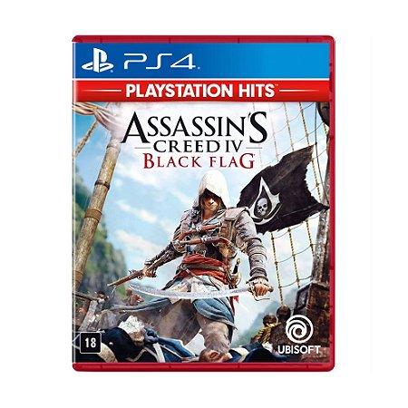 Jogo Assassins Creed IV 4: Black Flag - PS4