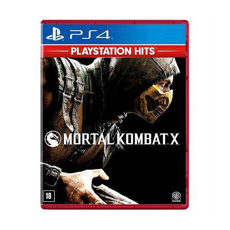 Jogo Mortal Kombat X (Playstation Hits) - PS4