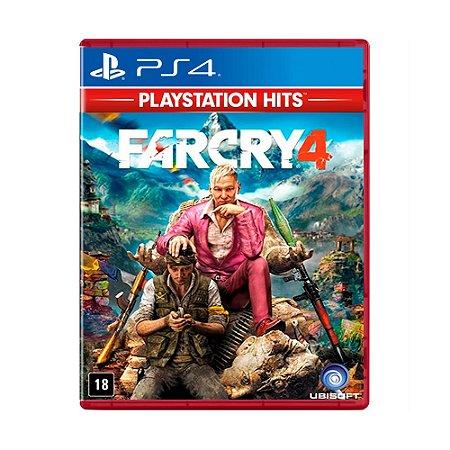 Jogo Far Cry 4 (Platinum Hits) - PS4