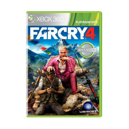 Jogo Far Cry 4 (Platinum Hits) - Xbox 360