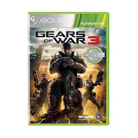 Jogo Gears of War 3 (Platinum Hits) - Xbox 360