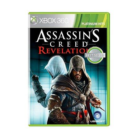 Jogo Assassin's Creed: Revelations (Platinum Hits) - Xbox 360