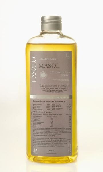 Óleo Vegetal Composto Masol 500ML