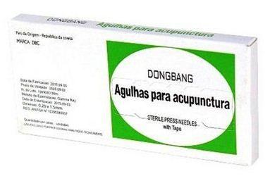 Agulha Auricular c/50 c/ micropore