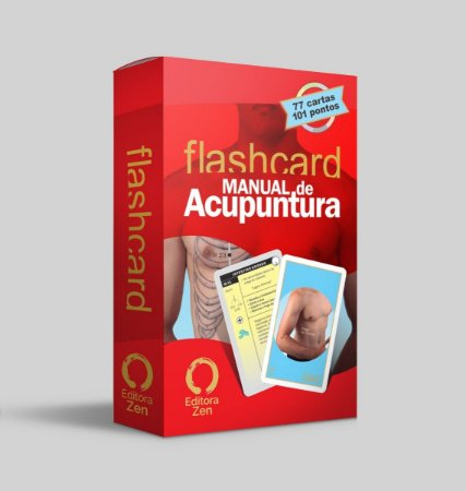 FLASH CARD MANUAL DE ACUPUNTURA DIRETO AO PONTO