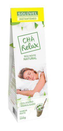 Chá Relax Solúvel Instantâneo com Colágeno Hidrolisado - 120g