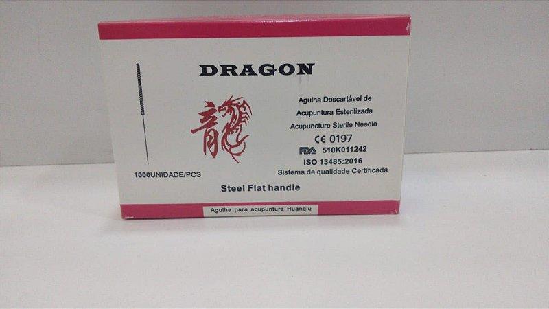 AGULHA PARA ACUPUNTURA DRAGON 0,25x40 caixa c/1000