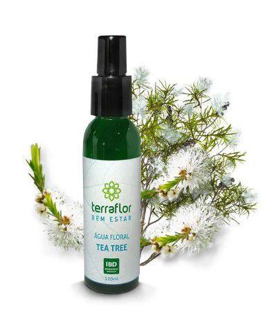 Água Floral Tea Tree 120 ML - Terra Flor
