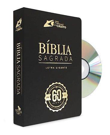 Bíblia Comemorativa com DVD Histórico da festa dos 60 anos (preta)