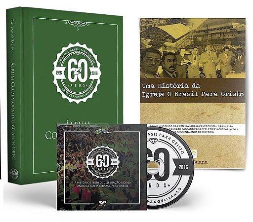 Box: Aprendendo com a Nossa História - Livro, Álbum, DVD