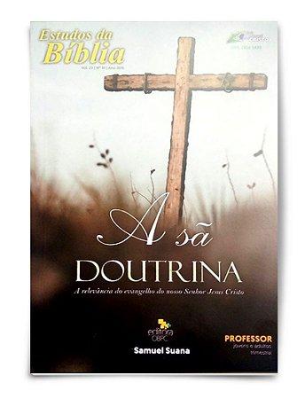 Estudo Bíblico - A Sã Doutrina - Aluno