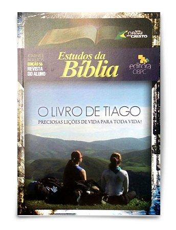Estudo Bíblico - O Livro de Tiago - Professor