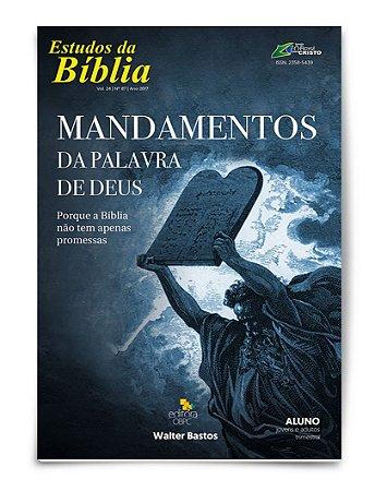 Estudo Bíblico - Mandamentos da Palavra de Deus - Aluno