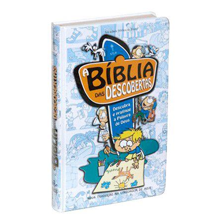A Bíblia das Descobertas (Azul)
