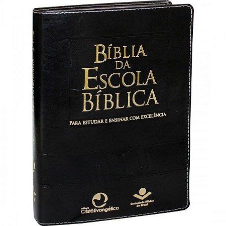 Bíblia da Escola Bíblica (Azul Nobre)