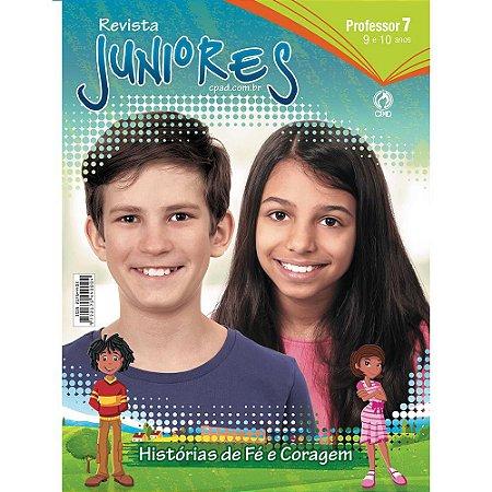 Revista Juniores (9 a 10 anos) Professor - 3º Trimestre 2018