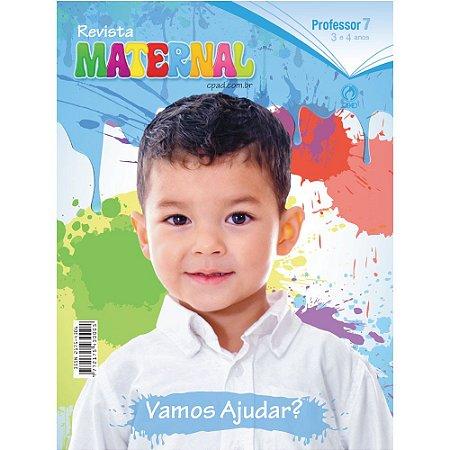 Revista Maternal (3 a 4 anos) Professor - 3º Trimestre 2018