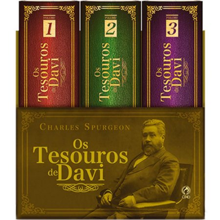 Box Os Tesouros de Davi - Charles Spurgeon
