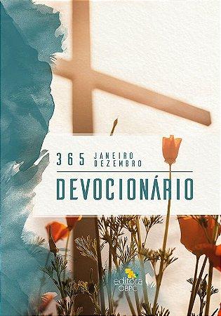 Devocionário 2019 - Capa floral