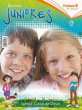 Revista Juniores (9 a 10 anos) Professor - 2º Trimestre 2020
