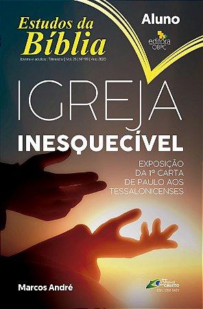 Estudo Bíblico - Igreja Inesquecível - Aluno