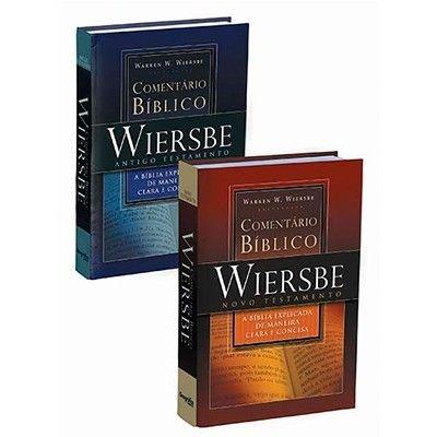 Comentário Bíblico Outline WIERSBE - 2 volumes