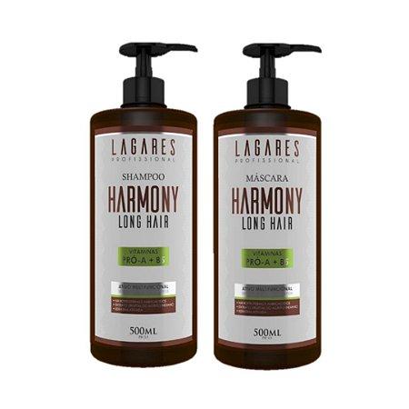 Harmony Long Hair - Shampoo e Máscara 500ml