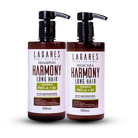 Kit Harmony Long Hair com Máscara de Hidratação