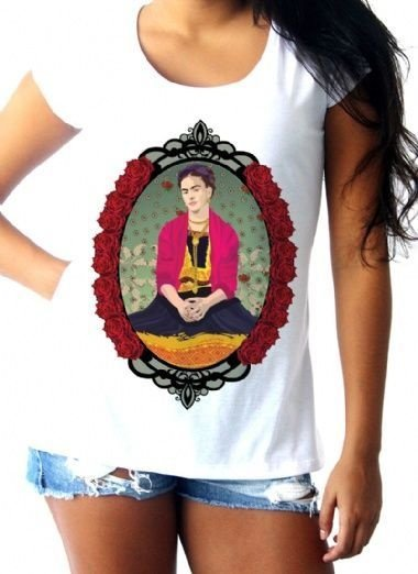T-shirt Red Frida