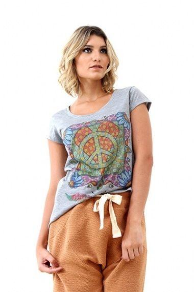 T-shirt Peace & Love