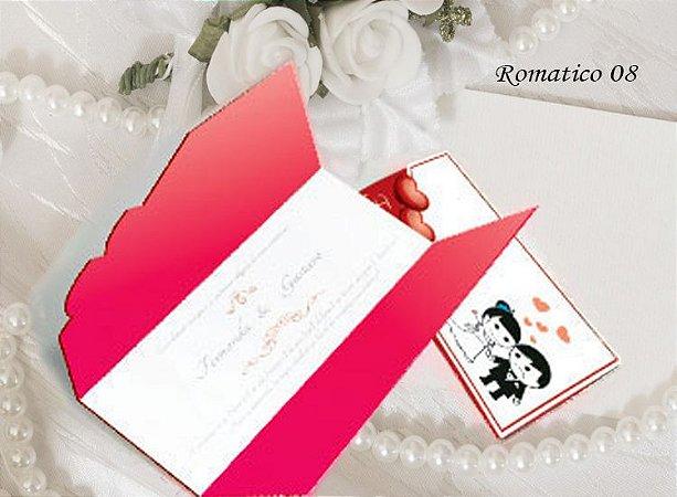Convite Romântico 08