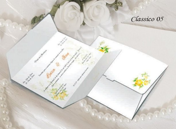 Convite Clássico 05