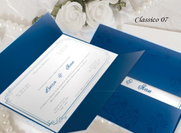 Convite Clássico 07 - R$ 3,70