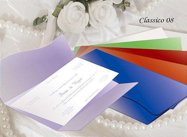 Convite Clássico 08 - R$ 3,70*