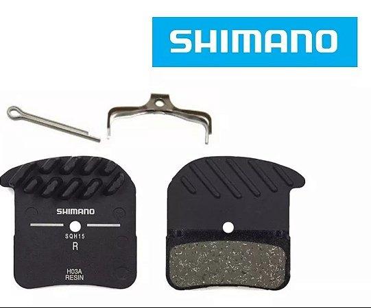 PASTILHA DE FREIO SHIMANO - 4 PISTÕES - ICE TECH RESINA - ZEE/SAINT/XTM8020 -