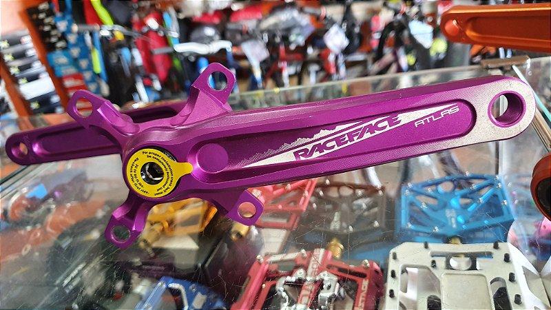 PEDIVELA RACE FACE - ATLAS - 73X170MM - ROXO