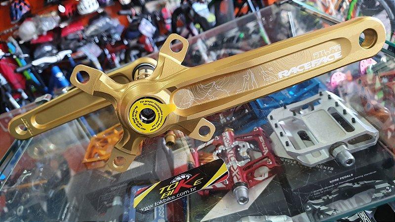 PEDIVELA RACE FACE - ATLAS - 83X170MM - DOURADO