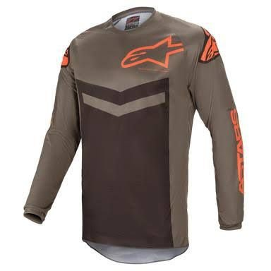 CAMISA ALPINESTARS - FLUID SPEED 21 - CINZA