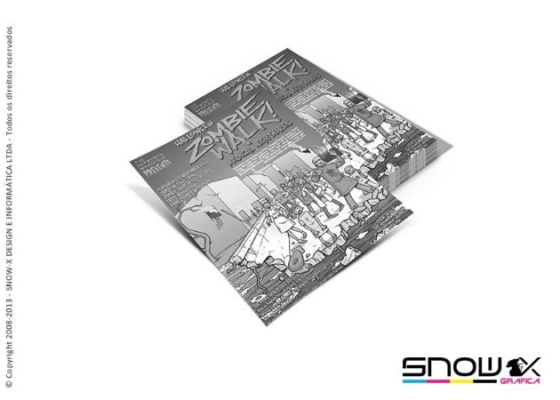 PANFLETO PB- 10x15 - SULFITE 75G - cor: 1X0