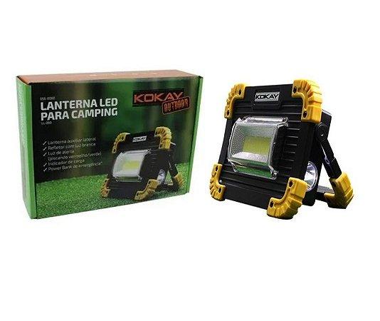 Lanterna LED para Camping - 20W LL-060
