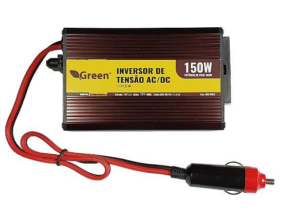 Inversor De Energia e conversor de Tensão 150w-12v-P/127v