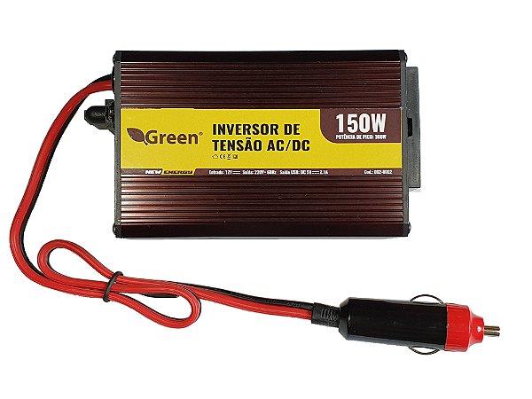 Inversor De Energia e conversor de Tensão 150w-12v-P/220v